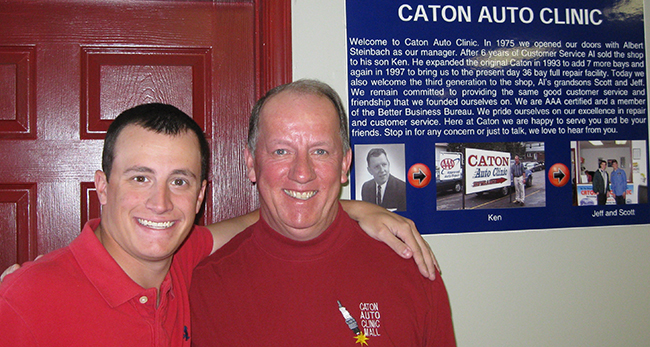 Caton Auto Clinic Owners